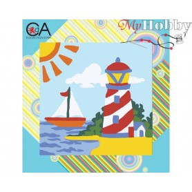 Cross Stitch Kit Stamped Full Range of Embroidery Kits   Collection D'Art - 4004K