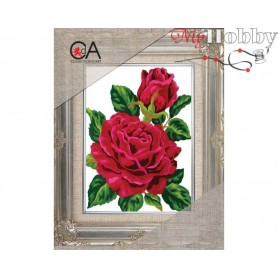 Cross Stitch Kit Stamped Full Range of Embroidery Kits 14x18 cm.  Collection D'Art - 3285K
