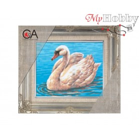 Cross Stitch Kit Stamped Full Range of Embroidery Kits 14x18 cm.  Collection D'Art - 3094K