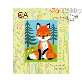 Cross Stitch Kit Stamped Full Range of Embroidery Kits 14x18 cm.  Collection D'Art - 3321K