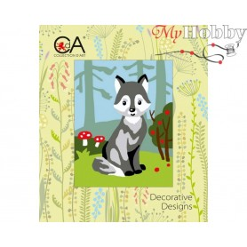 Cross Stitch Kit Stamped Full Range of Embroidery Kits 14x18 cm.  Collection D'Art - 3320K