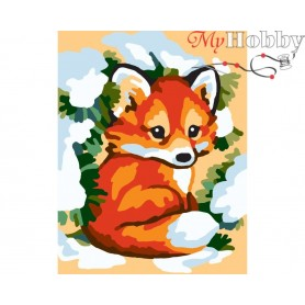 Cross Stitch Kit Stamped Full Range of Embroidery Kits 14x18 cm.  Collection D'Art - 3318K