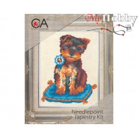 Cross Stitch Kit Stamped Full Range of Embroidery Kits 14x18 cm.  Collection D'Art - 3141К