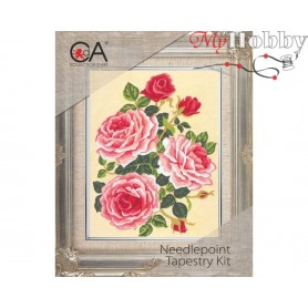 Cross Stitch Kit Stamped Full Range of Embroidery Kits 14x18 cm.  Collection D'Art - 3118К