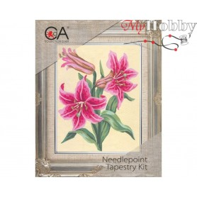 Cross Stitch Kit Stamped Full Range of Embroidery Kits 14x18 cm.  Collection D'Art - 3106К