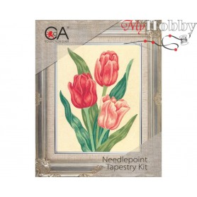 Cross Stitch Kit Stamped Full Range of Embroidery Kits 14x18 cm.  Collection D'Art - 3105К