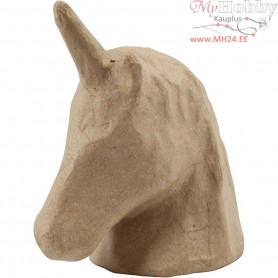 Trophy, unicorn, H: 18,5 cm, W: 10 cm, 1pc