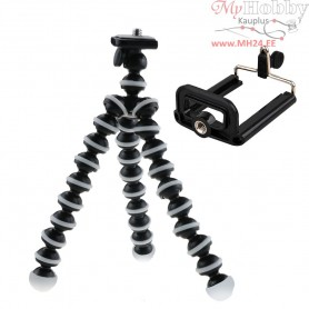 Phone and Camera Flexible TriPod Mount