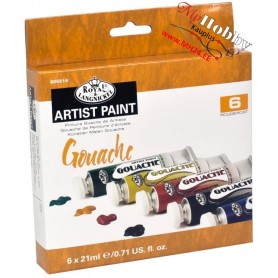 Royal & Langnickel 21ml Gouache Painting Colour (Pack of 6)