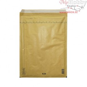 Bubblelined Envelope K/20 yellow, 350x470mm