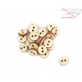 "Plywood form - decorative buttons ""Buratini"", Article: DZ40077"