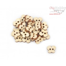 "Plywood form - decorative buttons ""Buratini"", Article: DZ40076"