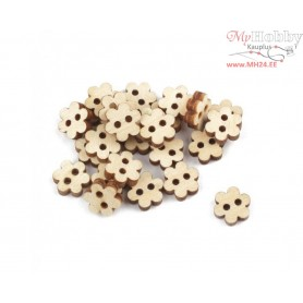 "Plywood form - decorative buttons ""Buratini"", Article: DZ40074"