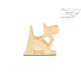 """Plywood form """"Buratini"""" in Origami style - support, Article: DZ80018"""