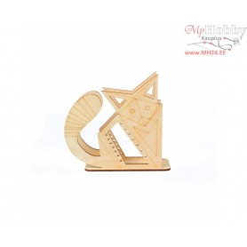 """Plywood form """"Buratini"""" in Origami style - support, Article: DZ80015"""