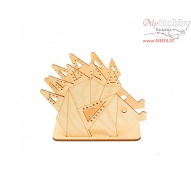 """Plywood form """"Buratini"""" in Origami style - support, Article: DZ80013"""