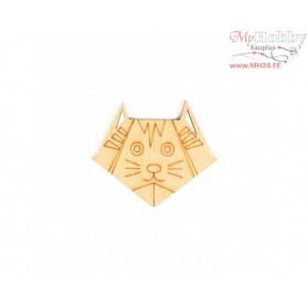 """Plywood form """"Buratini"""" in Origami style, Article: DZ80004"""