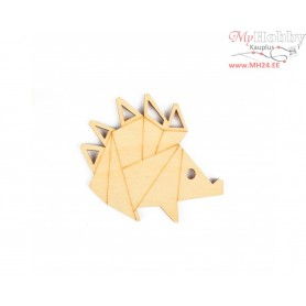 "Plywood form ""Buratini"" in Origami style, Article: DZ80002"