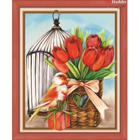 Diamond Painting Full Kits 24x30cm  Mosfa - AM1470