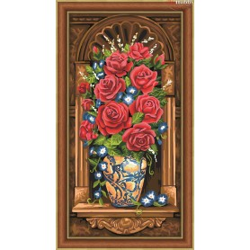 Diamond Painting Full Kits 30x60cm  Mosfa - AM1603