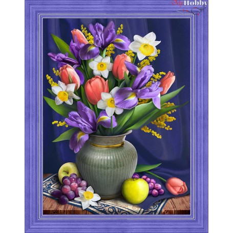 Diamond Painting Full Kits 30x40cm  Mosfa - AM1693