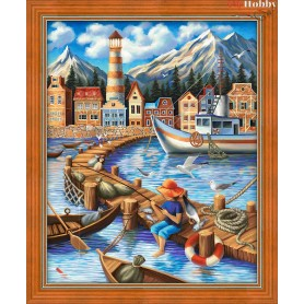 Diamond Painting Full Kits 40x50cm  Mosfa - AM1697