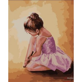 Paint by numbers ' Ballerina baby' Size 40x50cm DIY art. by Tsvetnoy - MG2055e