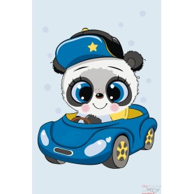 Paint by numbers ' Little Panda' Size 20x30cm DIY art. by Tsvetnoy - MC1099e
