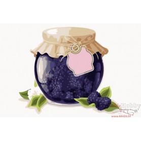 Paint by numbers ' Blackberry Jam' Size 20x30cm DIY art. by Tsvetnoy - MC1070e