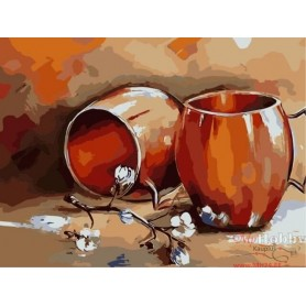 Paint by numbers ' Still life' Size 30x40cm DIY art. by Tsvetnoy - ME1059e