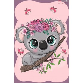 Diamond embroidery and mosaic paintings ' Little Koala' Size 20x30cm DIY art. by Tsvetnoy - LC020e