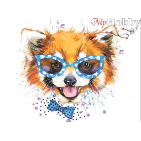 Diamond embroidery and mosaic paintings ' Stylish Red Panda' Size 40x50cm DIY art. by Tsvetnoy - LG190e