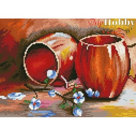 Diamond embroidery and mosaic paintings ' Still Life' Size 30x40cm DIY art. by Tsvetnoy - LE058e