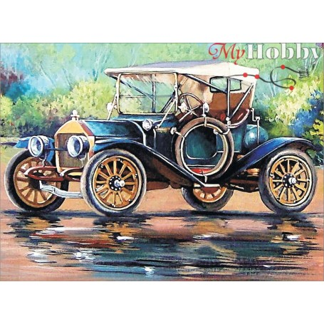 Diamond embroidery and mosaic paintings ' Retro Car' Size 40x50cm DIY art. by Tsvetnoy - LG221e