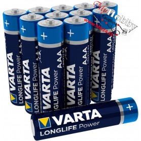 Varta Longlife Power High Energy AA (LR6) Alkaline Batteries - 1pc