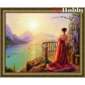 Diamond Painting Full Kits 50х40cm  Mosfa - AM1824