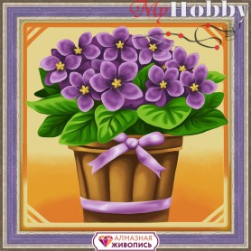 Diamond Painting Full Kits 15х15cm  Mosfa - AM1637