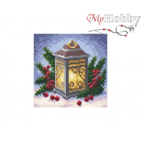 Diamond Embroidery Painting Kit Light of hope Collection D'Art - size 20x20
