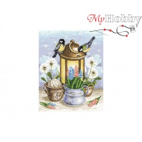 Diamond Embroidery Painting Kit Spark of the spring Collection D'Art - size 38x48