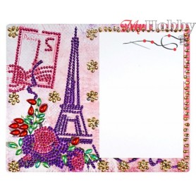 "Diamond Embroidery Painting Kit ""My Paris"" Collection D'Art - size 21x17cm"