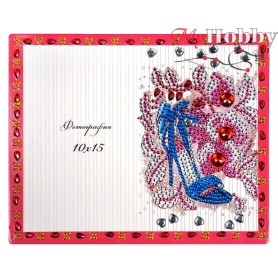 "Diamond Embroidery Painting Kit ""Tender"" Collection D'Art - size 21x17cm"