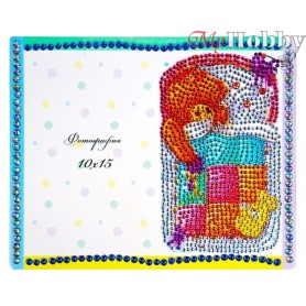 "Diamond Embroidery Painting Kit ""My joy"" Collection D'Art - size 21x17cm"