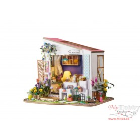 Miniature Dollhouse Room Box Kit - DIY Lily's PORCH