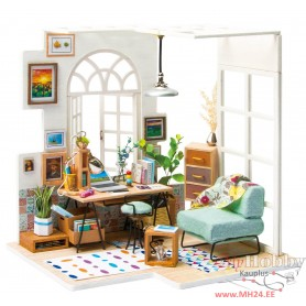 Miniature Dollhouse Room Box Kit - DIY Soho time