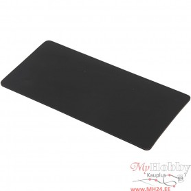 Silicone Plate, size 15,5x7,3 cm, thickness 2 mm, 1 pc