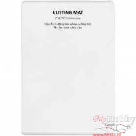 Cutting Plate, size 22,2x15,3 cm, thickness 3 mm, 1 pc