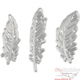 Die Cut, feather, size 47x48 mm, 1 pc