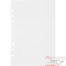 Planner pages, white, size 142x210 mm, 36 , 120 g, 1 pc