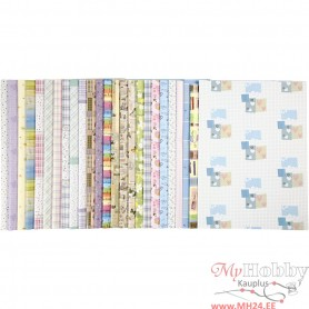 Wrapping Paper, 52x75 cm, 80 g, 25x2 sheet/ 1 pack