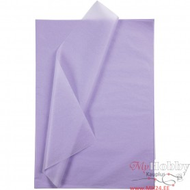 Tissue Paper, light lilac, 50x70 cm, 14 g, 10 sheet/ 1 pakk